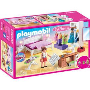 PLAYMOBIL® Dollhouse 70208 Schlafzimmer mit Nähecke