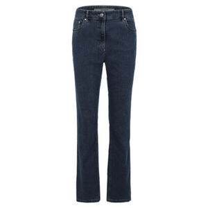 """Zerres Jeans """"Cora"""", Regular Fit, unifarben, Waschungseffekte, für Damen"""
