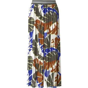 Tom Tailor Plisseehose, 7/8-Länge, Straight Fit, Print, für Damen
