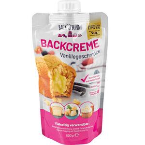 BACK'O'FUNNY Backcreme Vanille, 500 g