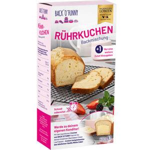 BACK'O'FUNNY Backmischung Rührkuchen, 400 g