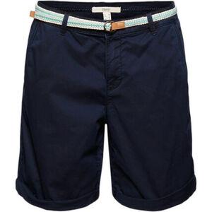 Esprit Shorts, hoher Baumwollanteil, seitliche Eingrifftaschen, uni, für Damen