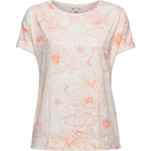 Esprit T-Shirt, floraler Print, Rundhals, für Damen