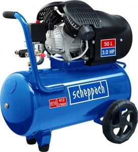 Scheppach Kompressor GK520DC ,  10 bar, 50 l, 412 l/min, 2,2 kW, 2-Zylinder