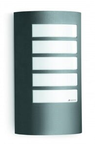 Steinel Außenleuchte L 12 M anthrazit ,  E27,  Aluminium, IP 44