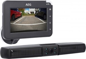 AEG Solar Rückfahrkamera kabellose & einfache Montage der Kamera
