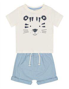 Baby Set aus Shirt und Shorts