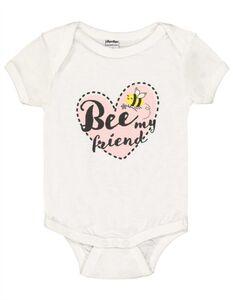 Newborn Body mit Message-Print