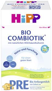 Hipp Bio Combiotik Pre Anfangsmilch von Geburt an 600G