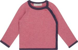 Baby Wickelshirt P.PICASSO , Organic Cotton dunkelrosa Gr. 50/56 Mädchen Baby