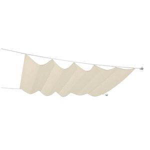 Durabil              Seilspann-Markise 330x200 cm, beige