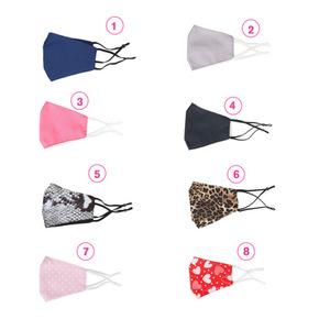Mund-Nasen-Maske in verschiedenen Designs