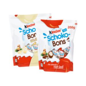 Schoko Bons oder Kinder Happy Moments Mini Mix