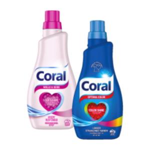 Coral Waschmittel Flüssig, Pulver oder Caps