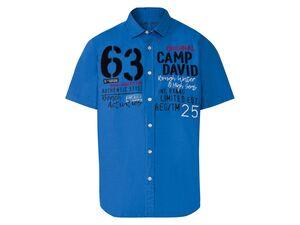 Camp David Hemd Herren, leger und locker geschnitten