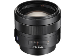 SONY SAL85F14Z Zeiss Vollformat - 85 mm f/1.4 Circulare Blende (Objektiv für Sony A-Mount, Schwarz)