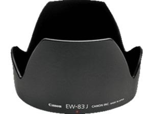 CANON EW-83J, Gegenlichtblende, Schwarz, passend für EF-F 17-55mm USM IS