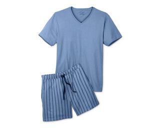 Shorty-Pyjama, Oberteil unifarben