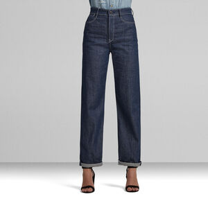 Tedie Ultra High Long Straight Jeans C