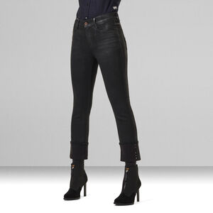 Noxer Navy Straight Jeans