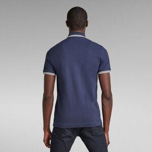 Dunda Slim Stripe Poloshirt