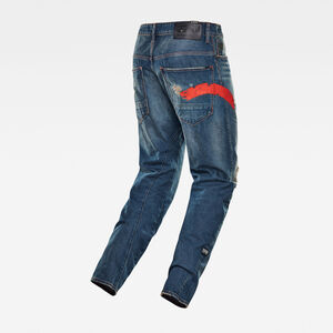 E Arc 3D Relaxed Tapered Jeans