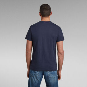 Contrast Mercerized Pocket T-Shirt
