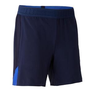 Fußballshorts F900 Damen blau