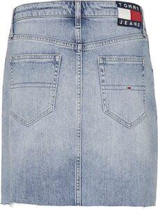 Tommy Jeans Jeansrock »SHORT DENIM SKIRT« mit Destroyed-Stellen