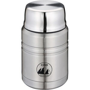 "Cilio Food Container ""Monte"", 500 ml, silber"