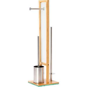 "Wenko WC-Standgarnitur ""Rivalta Bamboo"""