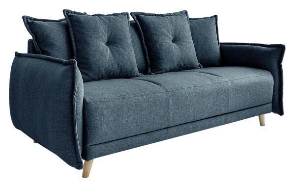 Dreisitzer-Sofa in Türkis ´LAZY LUKKA TÜRKIS´