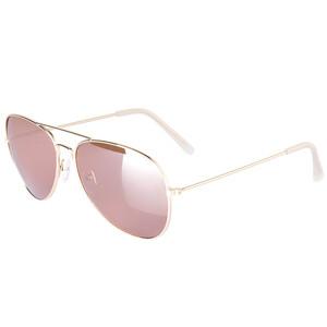Damen Sonnenbrille mit Metallgestell