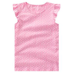Mädchen T-Shirt mit Flügelärmelchen