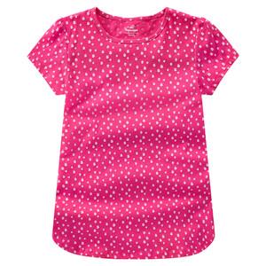 Mädchen T-Shirt mit Blümchen allover