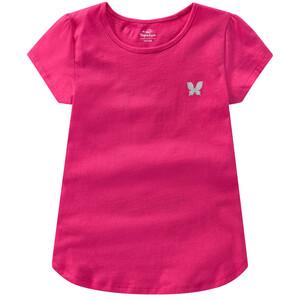 Mädchen T-Shirt mit Herzchen allover