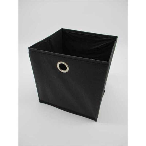 Faltbox, ca. 20 x 20 cm, Schwarz