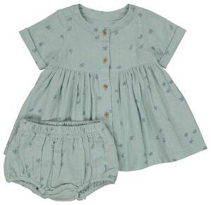 HEMA Baby-Kleid Mit Hose Blau