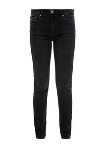 Damen Skinny Fit: Schwarze Slim leg-Jeans