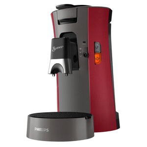Philips Senseo Select Kaffeepadmaschine CSA230/90 schwarz/rot