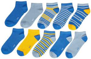 HIP&HOPPS®  Kinder-Sneakersocken