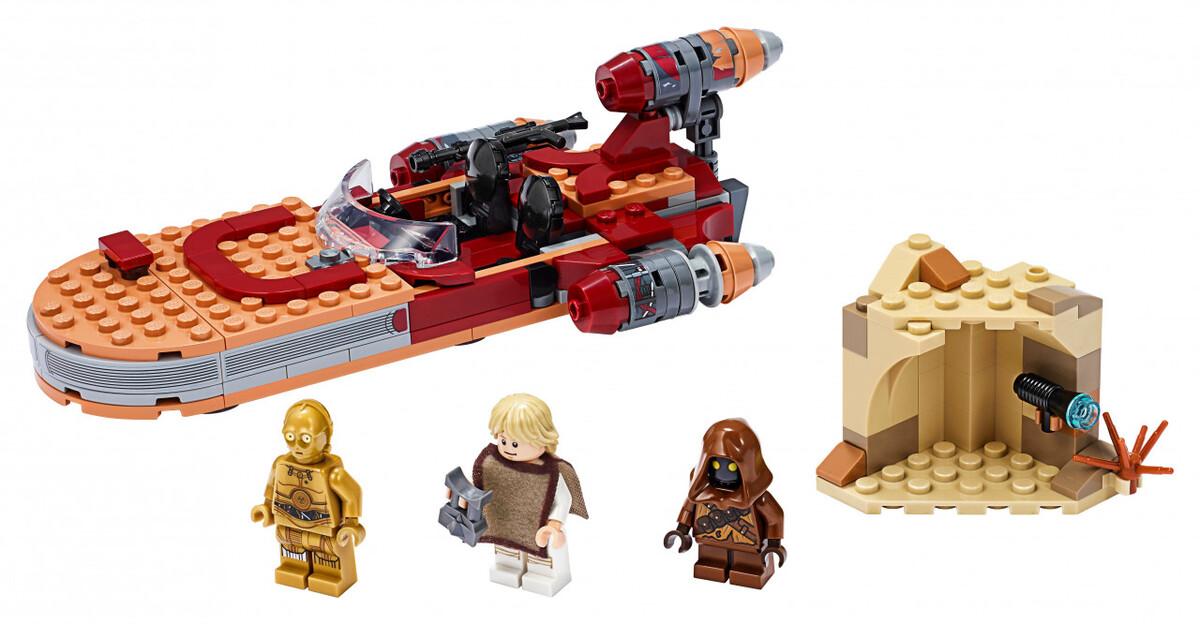 Bild 3 von Lego Star Wars Luke Skywalkers Landspeeder