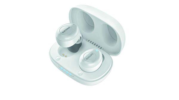 Philips True Wireless Kopfhörer T2206 weiß