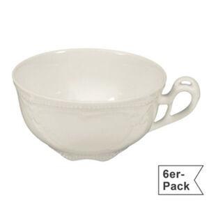 Seltmann Weiden Teetasse Rubin Cream im 6er-Pack spülmaschinenfest #mikrowellengeeignet Uni