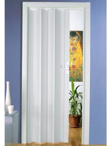 Falttür »Luciana«, Dekor: Weiß, ohne Fenster, Höhe: 202 cm