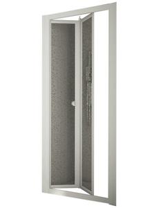 Nischendusche »Domino«, Klapptür, BxH: 90 x 185 cm