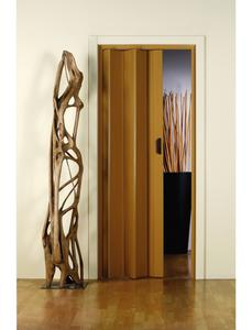 Falttür »Monica«, Dekor: Eiche, ohne Fenster, Höhe: 204 cm