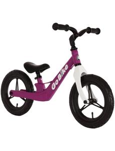 Kinderfahrrad »Go Bike«, 1 Gang, Lernlaufrahmen, Lila-Weiß