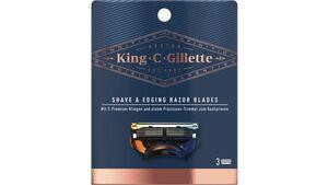 King C. Gillette Systemklingen 3er