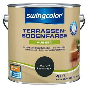 swingcolor Renovierfarbe Terrassenbodenfarbe RAL 7016